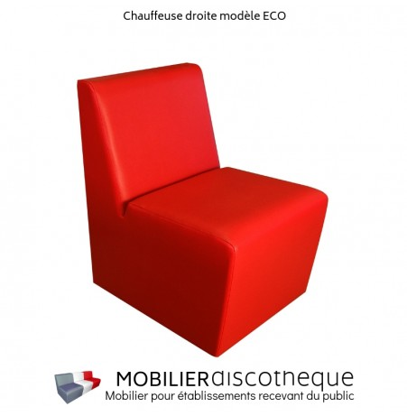 Chauffeuse ECO rouge