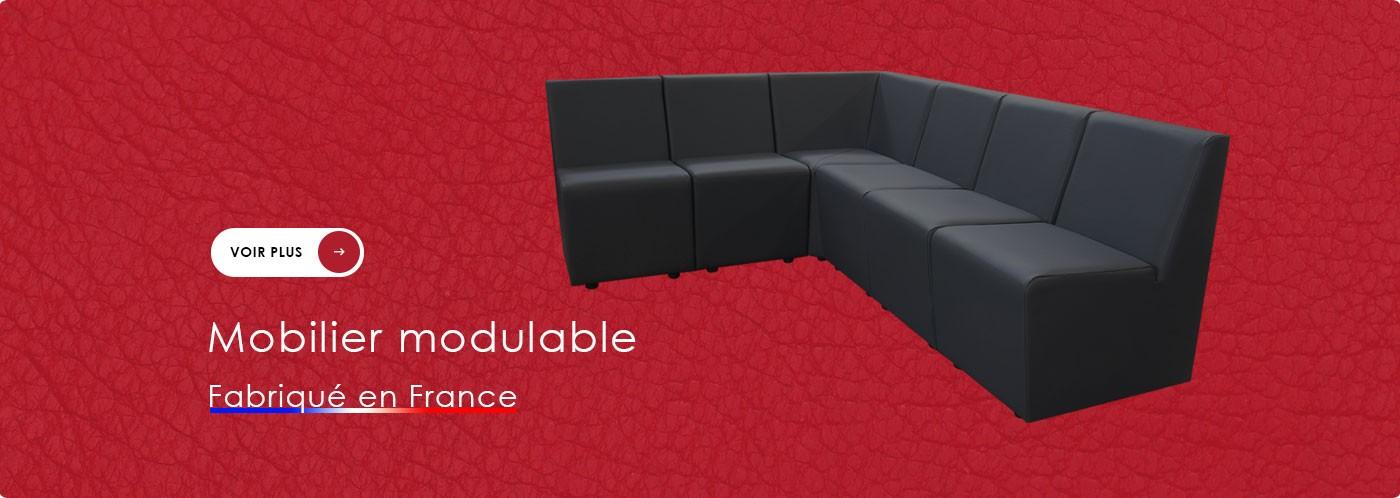 Mobilier modulable pour ERP